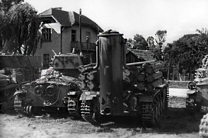 Немецкий газогенераторный танк на базе Pz.Kpfw. II